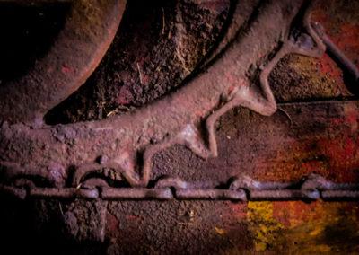 Detail from a cutter