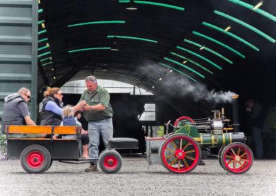Wallis and Stevens miniature engine
