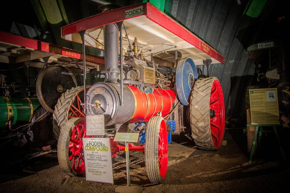 Foden Engine – no 1828
