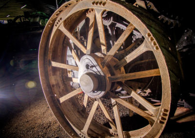 Wheel of a Fowler No 14047