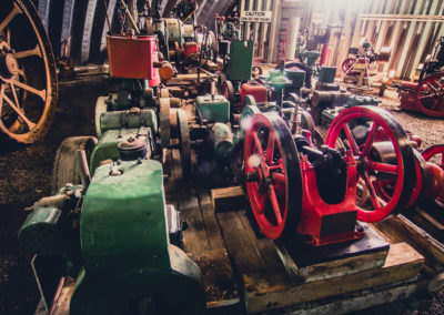 Selection of stationary engines