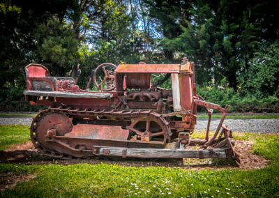 Bulldozer awaiting restoration